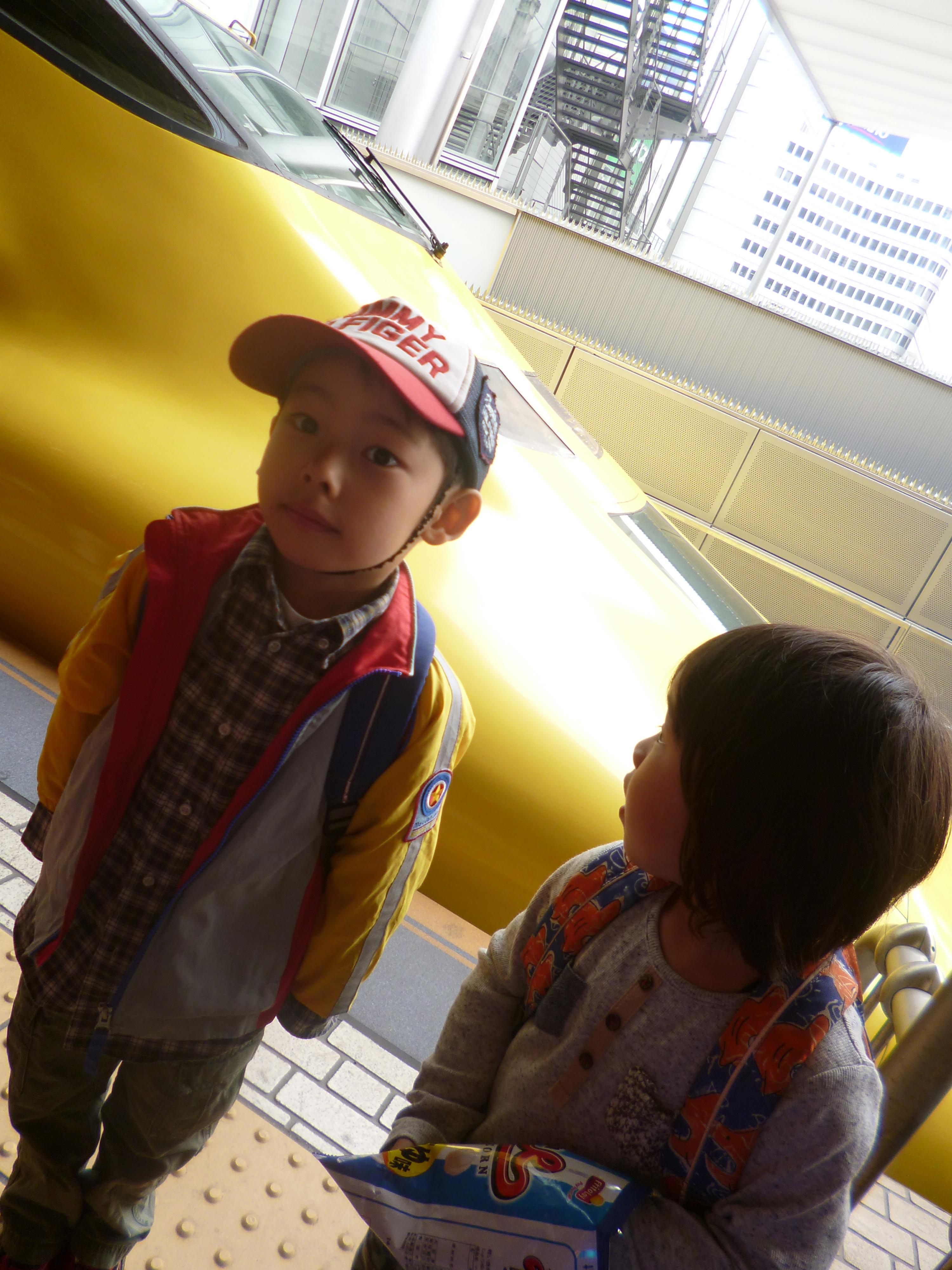 新幹線 ドクターイエローを見た!